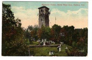 Memorial Tower, North West Arm, Halifax, Nova Scotia, Used 1913