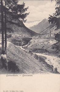 GOTTHARDBAHN, Goeschenen, Switzerland, 00-10s