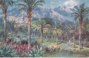 MONTE-CARLO , Monaco , 00-10s ; Les Jardins , Vue de l'Hotel Riviera-Palace ,...