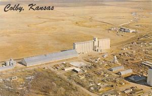 Colby Kansas~Cooper Grain Company~1960 Postcard