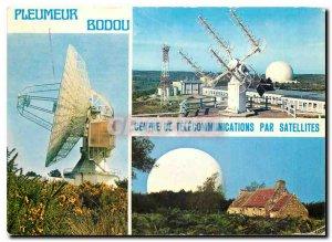 Postcard Modern Pleumeur Bodou central Telecommunications Satellite