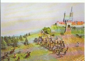 Wiltshire Postcard - Wilton House - Salisbury - The Battle of Lutzen  Ref 18447A