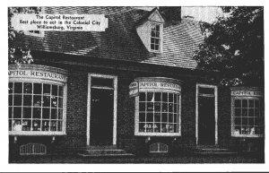 Virginia Williamsburg The Capitol Restaurant