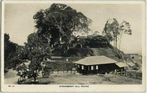 malay malaysia, PENANG, Strawberry Hill (1920s) RPPC Postcard
