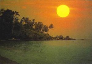 Thailand Sunrise at Lerm Ka Phuket Province