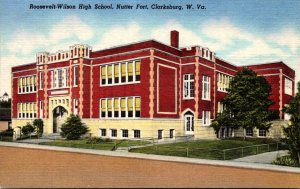 West Virginia Clarksburg Roosevelt-Wilson High School Nutter Fort Curteich