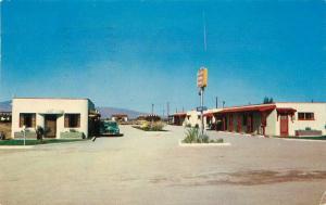 Autos Desert Sands Lodge 1955 Tucson Arizona Postcard Petley roadside 300
