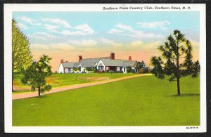 Southern Pines Country Club Southern Pines North Carolina Unused c1930