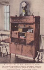 President James Monroe's Desk Fredericksburg Virginia Albertype