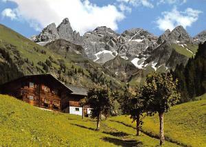 Einodsbach Trettach Maedelegabel Hochfrottspitze Oberstdorf Allgaeuer Alpen