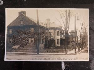 Mint US BW  Real picture Postcard Russell's Stone House Built 1792 Charleston SC