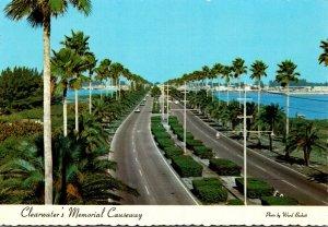 Florida Clearwater Memorial Causeway Looking West