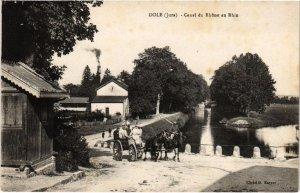 CPA Dole- Canal du Rhone au Rhin FRANCE- (1044288)