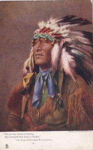Postcard Cavendish Morton Indian Hiawatha 1905 Postcard Raphael Tuck