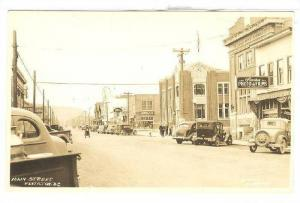 RP; General View of Main Street, Stocks Photo & Films, Penticton, British Col...