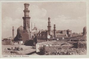 CAIRO, Egypt, 1900-1910´s; The Tombs Of The Mamelouks