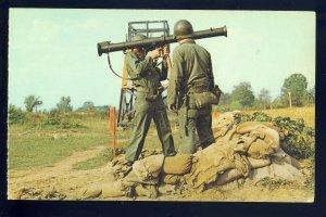 Camp Drum, New York/NY Postcard, Bazooka Training, National Guard, US Army