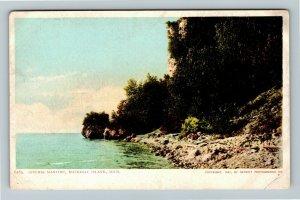 Mackinac Island MI-Michigan, Gitchie Manitou, Vintage Postcard
