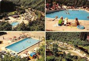 Belgium Camping Ranch Vallee de la Sure Martelange Swimming Pool Aerial view