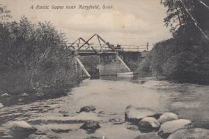 A Rustic Scene near MARYFIELD, Saskatchewan, Canada, PU-1900-1910s