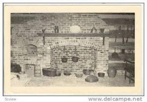 Fire Place, Fort Hill, Clemson College, South Carolina, 20-40s