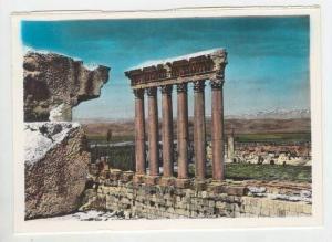 RP, Six columns Jupiter Temple, Lebanon, 1930-50s