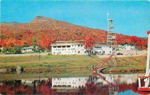 Franconia Notch New Hampshire~Indian Head~1956 Postcard