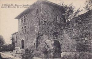 Maison Messimy Ancien Ministre De La Guerre, Perouges (Ain), France, 1900-1910s