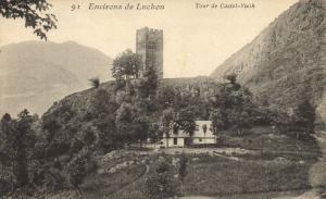 CPA Env. de LUCHON - Tour de Castel-Vielh (142708)