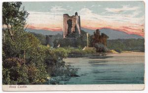 Ireland; Killarney, Ross Castle PPC, 1937 PMK to GB
