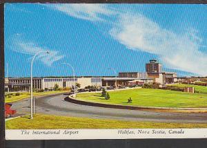 International Airport Halifax Nova Scotia  Postcard BIN