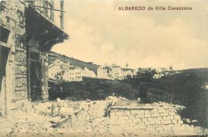 ITALIA Italy ALBAREDO da Villa Cavazzana WW1