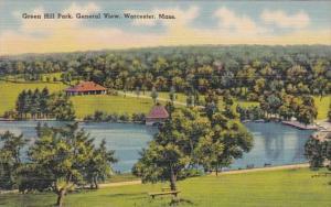 Massachusetts Worcester Green Hill Park General View
