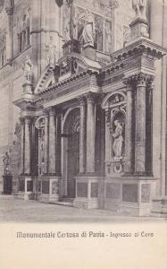 Ingresso Al Coro, Monumentale Certosa Di Pavia (Lombardy), Italy, 00-10s
