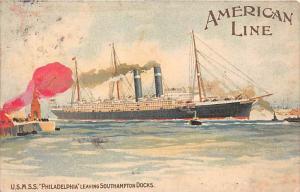 6235 U.S.M.S.S.  Philadelphia  American Line