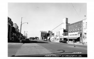 Holstein Iowa~Main Street~Coast to C~Grain Elevator~Sundries~Legion~1960s RPPC