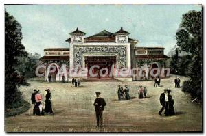 Old Postcard Exposition Coloniale Marseille 1906 View Of Stores