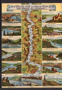Map Muti-view Rhine River,Germany BIN