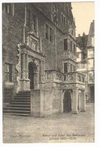 Hann. Münden , Germany, 00-10s: portal und Erker des Rathauses