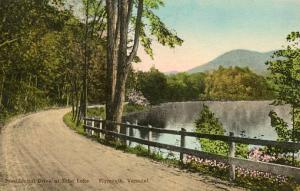 VT - Plymouth. Presidential Drive at Echo Lake