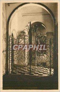 Old Postcard Parfumerie Molinard Grasse Forge Iron door of Entree du Musee Pr...