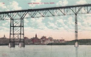 ST. PAUL , Minnesota , 1900-10s ; High Bridge