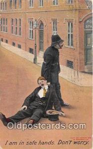 Police, Cop  Postcards Post Cards Old Vintage Antique  Police, Cop