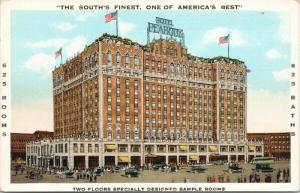 Hotel Peabody Memphis TN Tenn 'Welcome Canadians' Postcard D82 UNUSED