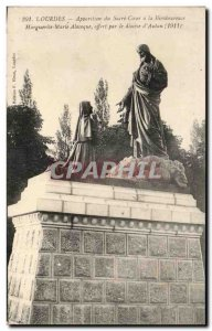 Old Postcard Lourdes Sacred Heart of The Apparition Bienbeureuse Margaret Mar...