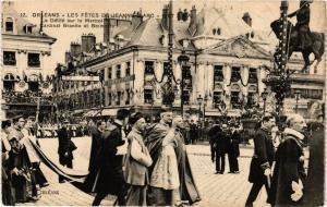 CPA ORLÉANS-Les Fetes de Jeanne d'Arc-Le Defile sur le Martroi (265908)