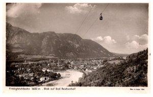 Germany  Blick of Bad Reidenhall  Predigtsuhlbahn 1600 m.