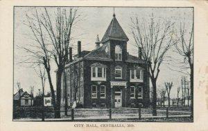 CENTRALIA , Missouri , 1900-10s ; City Hall