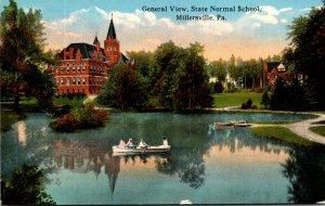 Pennsylvania Millersville General View State Normal School Curteich