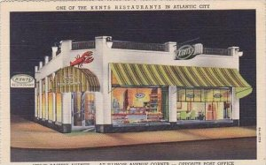 New Jersey Atlantic City Kents Restaurant 1700-02 Pacific Avenue